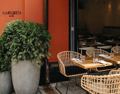 Margarita bistro summer terrace
