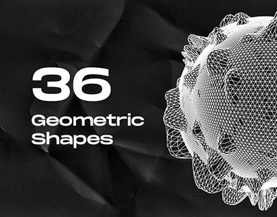 36 Geometric Shapes
