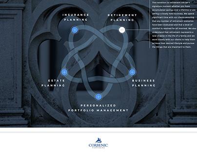 Corbenic Partners Website