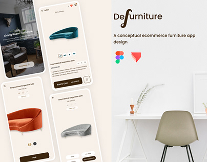 Ecommerce Furniture App Design