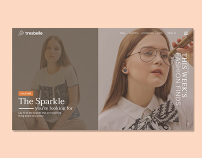 Tresbelle - Fashion Web Design