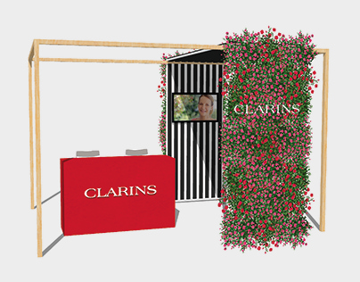 Pop-up shop | Clarins