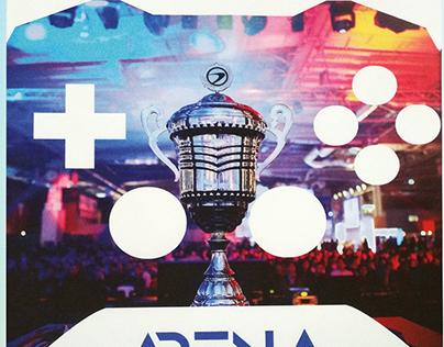 Arena - ESports Magazine Concept