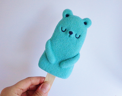 Popsicle Bear - Mint