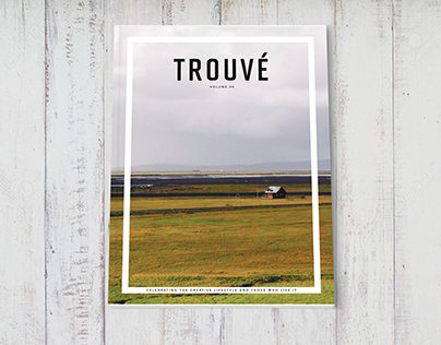 Trouvé VOL. 05 (Mock Lifestyle Magazine)