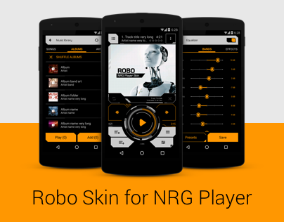 Robo skin for NRG Player