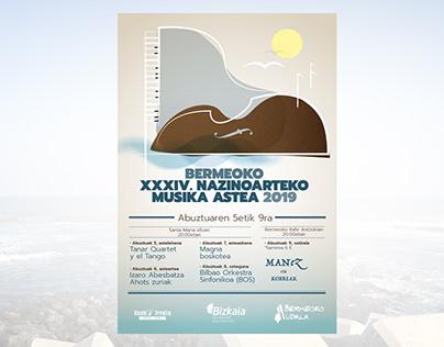 Bermeoko XXXIV. Nazinoarteko Musika Astea 2019