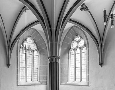 Prediger Monastery in Erfurt Germany