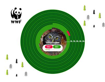 WWF / Pygmy Owl Landing Page