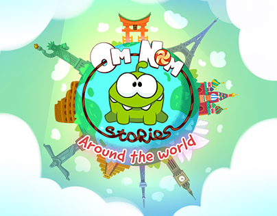 Backgrounds for Om Nom Stories: Around the World