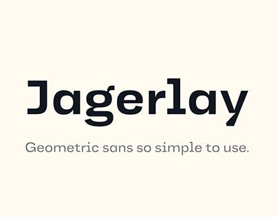 Jagerlay | Geometric sans so simple to use.