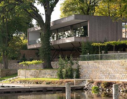 Haus am See by Carlos Zwick Architekten BDA