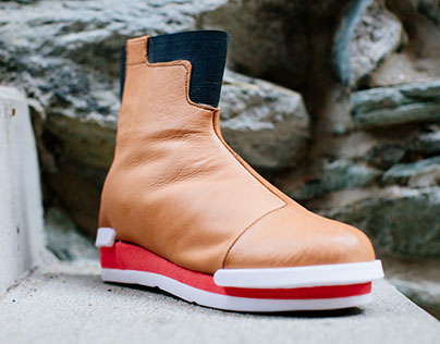Chelsea Boot with CNC-Milled Sole