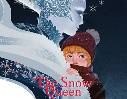 The Snow Queen - Book Illustration