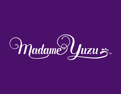 Visual Identity - Madame Yuzu Premium Ice Cream