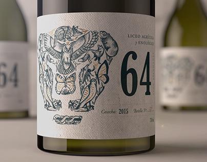 64 Sparkling Wine · Packaging