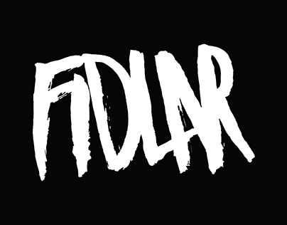 Fidlar Logo & Album Design