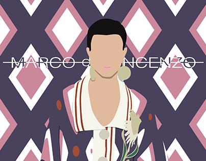 MARCO DE VINCENZO A/W 2020-21 - Illustration series