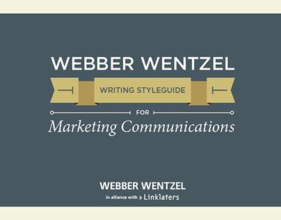 Webber Wenztel Style Guide