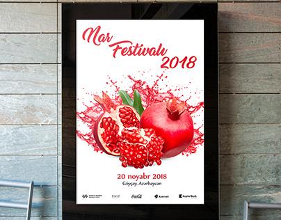 Pomegranate Festival Poster