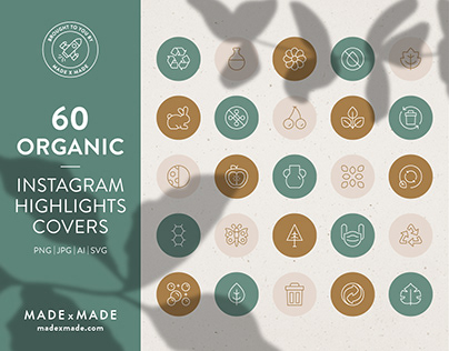 Organic – Instagram Highlight Covers