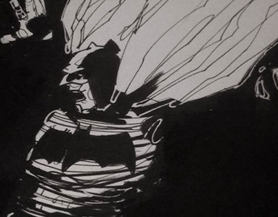 Sketching Batman