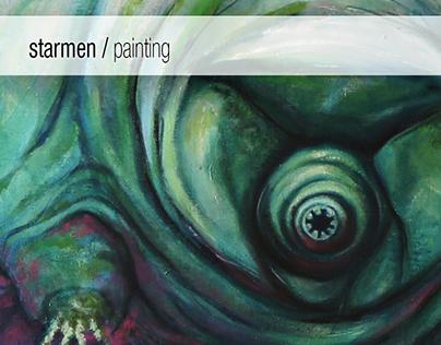 Starmen - painting