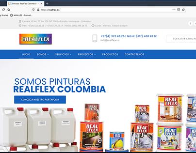 WEB SITE: REALFLEX Colombia   www.realflex.co
