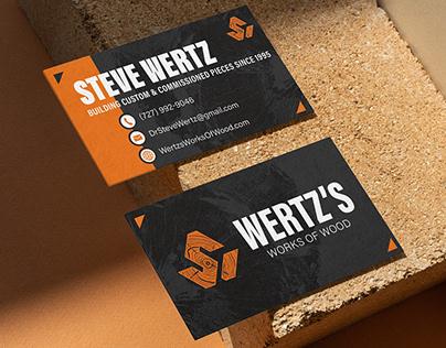 Wertz's Works of Wood | Brand Identity & Deliverables