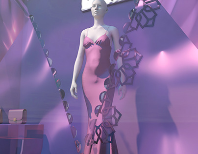 Holographic Showcase Design