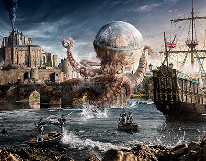 The Great Battle of Saint Andrews with a Giant Octopus.