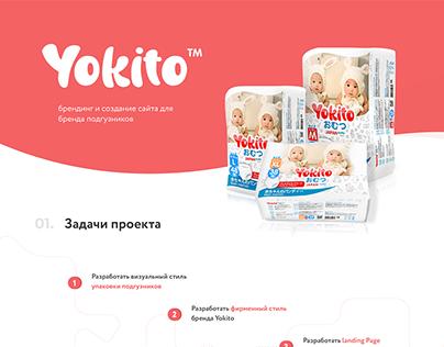 Yokito – premium baby diapers