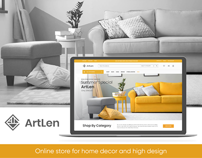 Online store for home decor