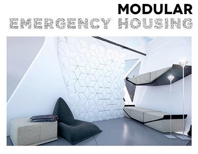 Modular emergensy housing