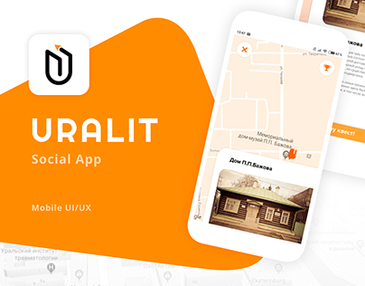 Uralit - Mobile App UI/UX