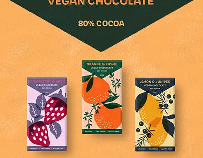 Vegan Chocolate Packaging