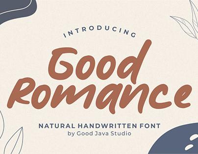 Good Romance – Natural Handwritten