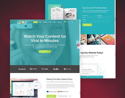 Responsive Wordpress Website Design by DIVI