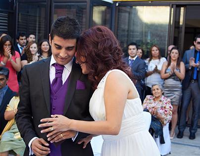 Matrimonio Catalina y Franco