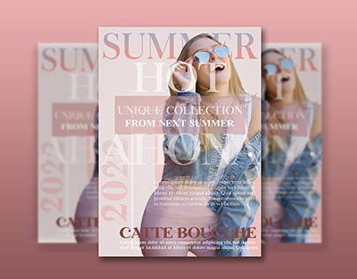 Summer Sale Flyer Template