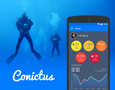 Divers Log Android App   Conictus