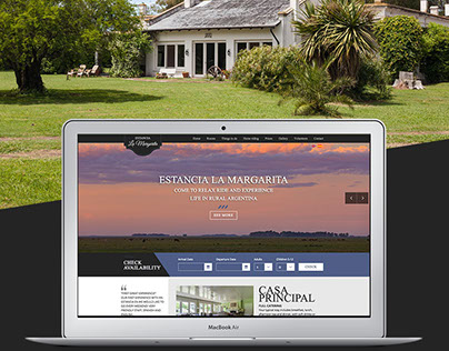 Estancia La Margarita - Website and Booking system