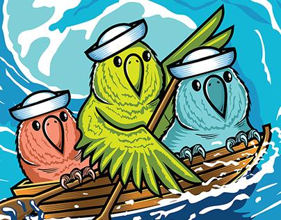 Ship it Parrots