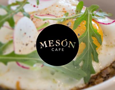 Mesón Cafe Brand Identity
