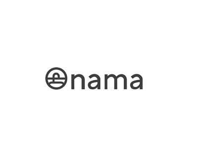 Onama UX and logo design