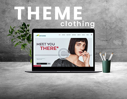 CLOTHING SHOP Web Theme