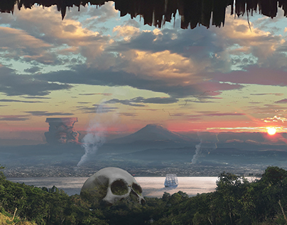 Mayan giant skull 2