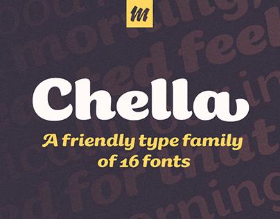 Chella typeface