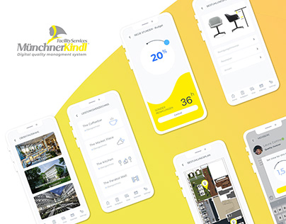 MunchnerKindl / Facility services iOS application