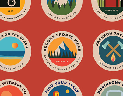 20 Ourdoor Badges